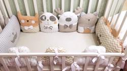 Бортики, подушки, игрушки ручной работы